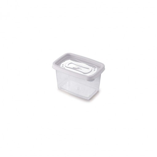 Pote de Plástico Retangular 430 ml Clic