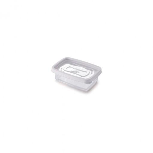 Pote de Plástico Retangular 180 ml Clic