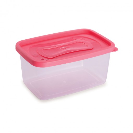 Pote de Plástico Retangular 1,2 L Clic