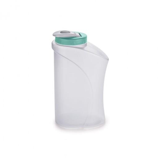 Garrada de Plástico 1,3 L com Fechamento Rosca e Tampa Articulável