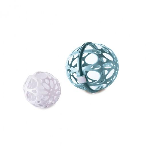 Protetor de Plástico para Roupas Finas com 2 Esferas e Trava