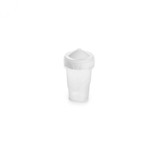 Paliteiro de Plástico com Tampa Rosca