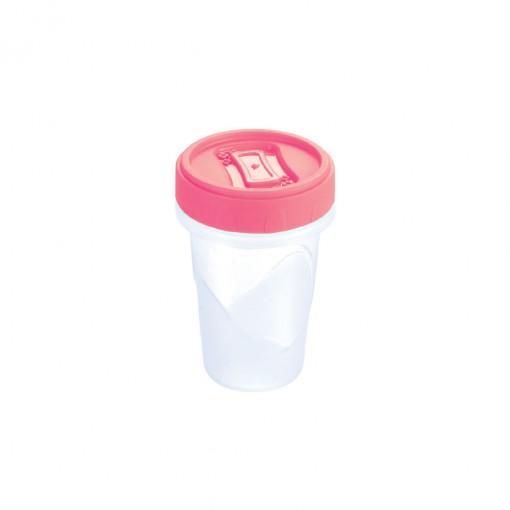 Pote de Plástico Redondo 90 ml Rosca