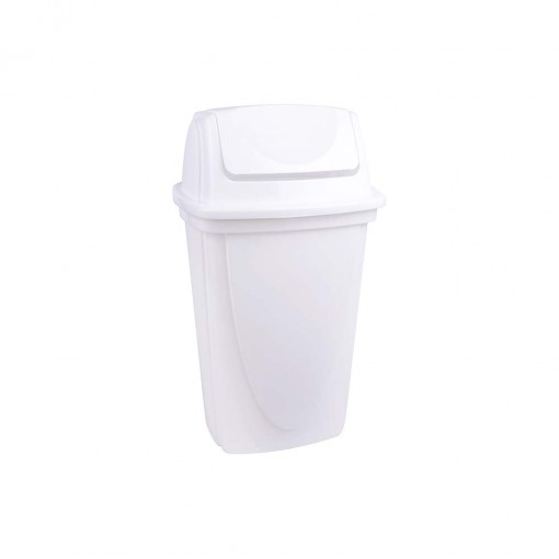 Lixeira de Plástico 9 L com Tampa Basculante