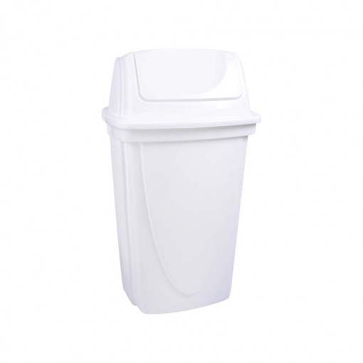 Lixeira de Plástico 14 L com Tampa Basculante