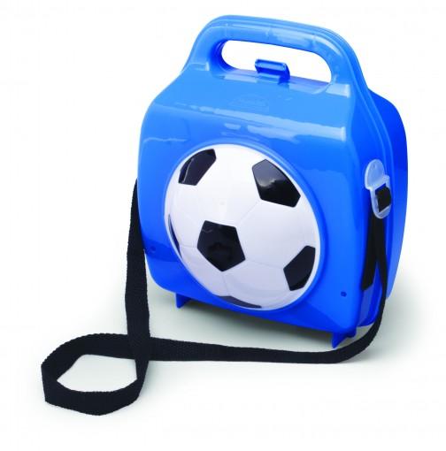 Lancheira de Plástico com Bola, Pote, Trava e Alças