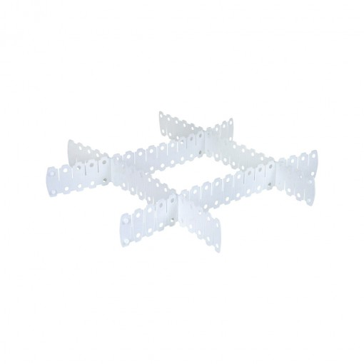 Divisórias de Plástico Encaixáveis para Gavetas 5 Unidades