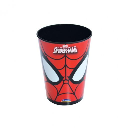 Copo de Plástico 320 ml Homem Aranha