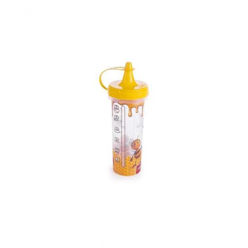Bisnaga de Plástico 250 ml para Mel