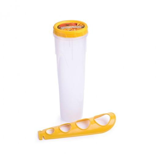 Pote de Plástico para Espaguete com Medidor