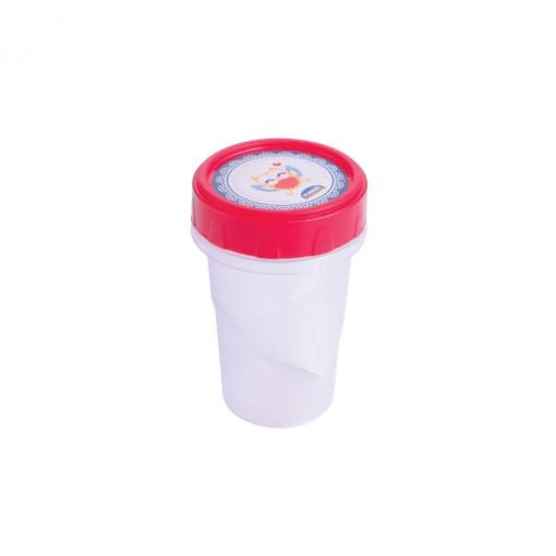 Pote de Plástico Redondo 90 ml Rosca Camomila