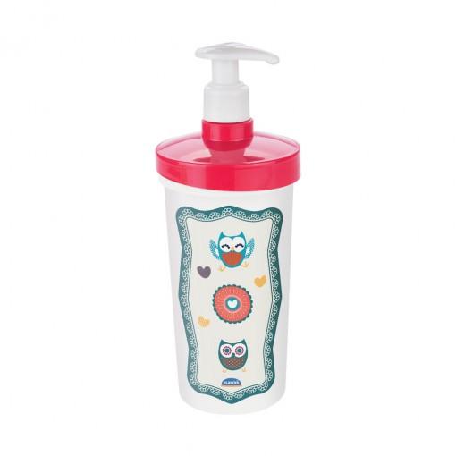 Porta Detergente de Plástico com Válvula Coruja