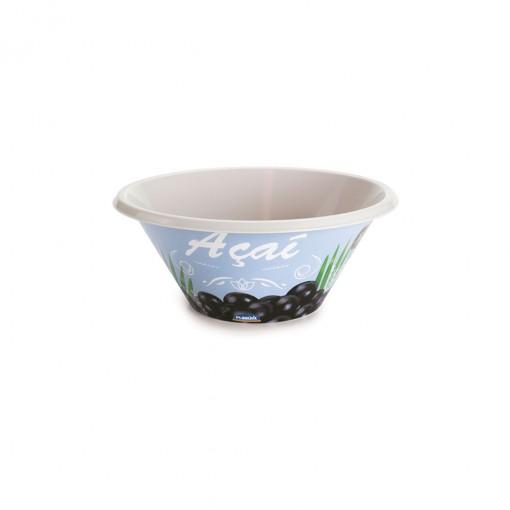 Tigela de Plástico 540 ml Açaí