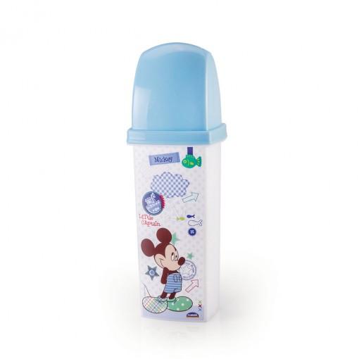 Dental Case de Plástico com Tampa Mickey Baby