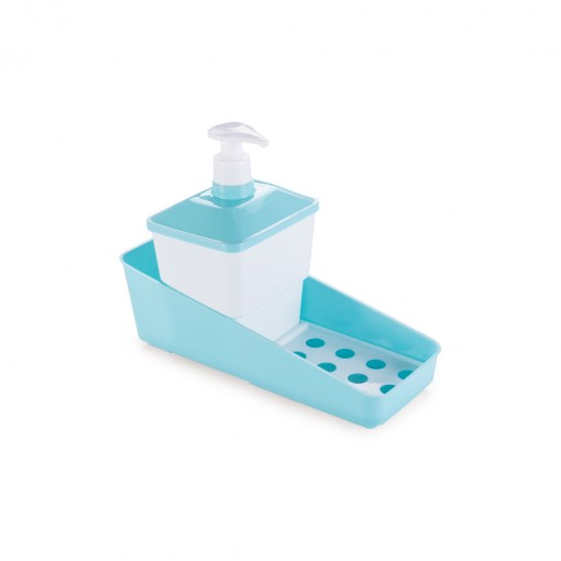 Conjunto para Porta Detergente de Plástico Quadrado
