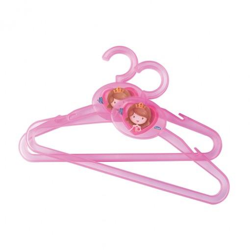 Conjunto de Cabides de Plástico 2 Unidades Baby Princess