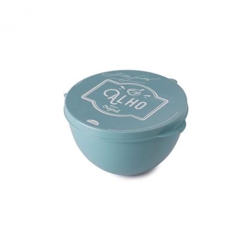 Pote de Plástico com Tampa Fixa para Alho Edu Guedes