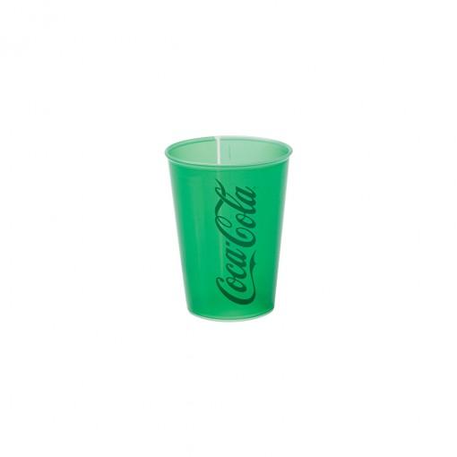 Copo de Plástico 320 ml Coca Cola