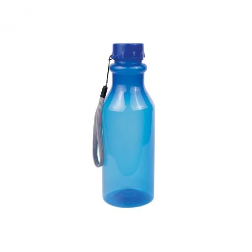Garrafa de Plástico 500 ml com Tampa Rosca Retrô Neon