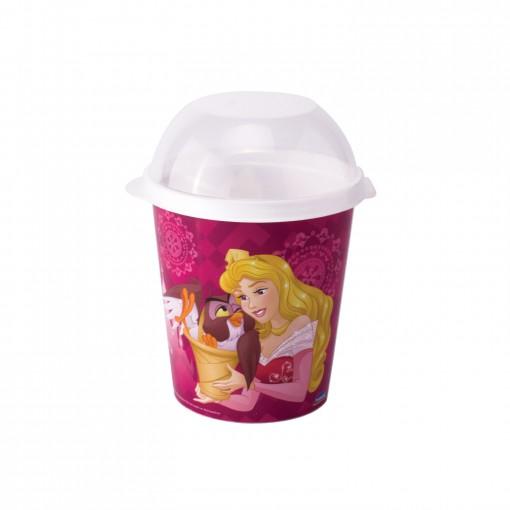 Porta Mix Pipoca 600 ml | Princesas Colecionáveis