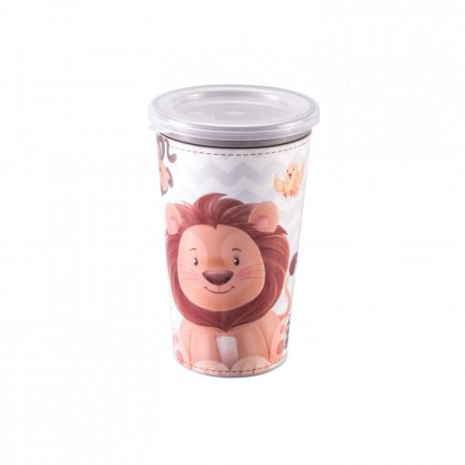Copo de Plástico 280 ml para Transição Os Filhotes Magic
