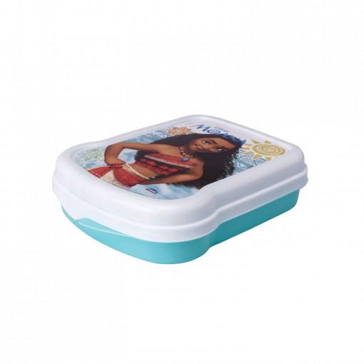 Sanduicheira de Plástico com Tampa Fixa Moana
