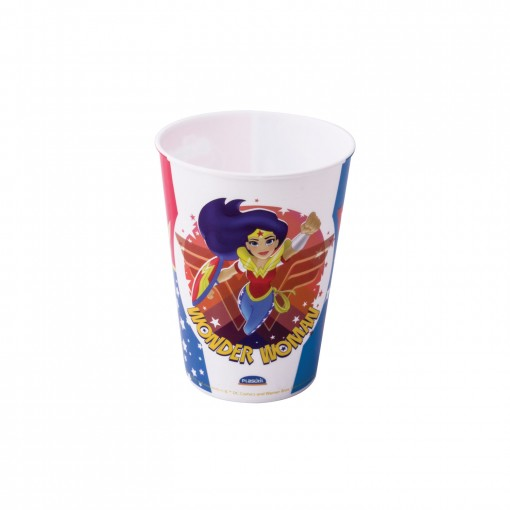 Copo de Plástico 320 ml Super Hero Girls