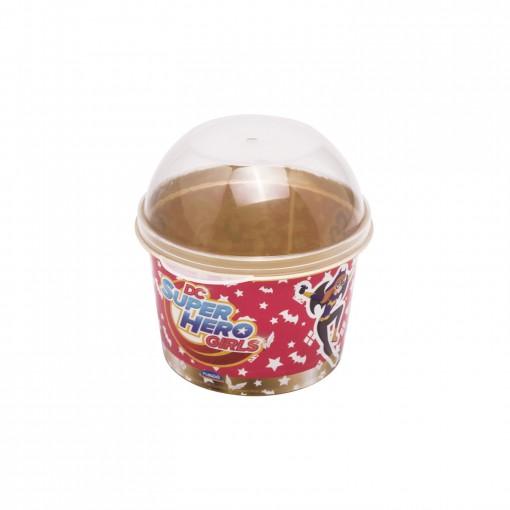 Porta Mix Pipoca 400 ml | Super Hero Girls