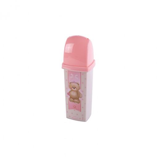 Dental Case de Plástico com Tampa Ursa