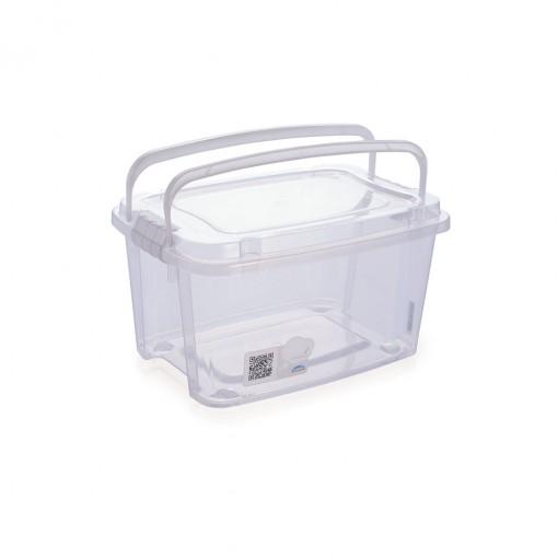 Caixa 2,6 L com Alça e Trava | Gran Box