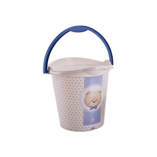 Balde de Plástico 8 L com Alça Urso