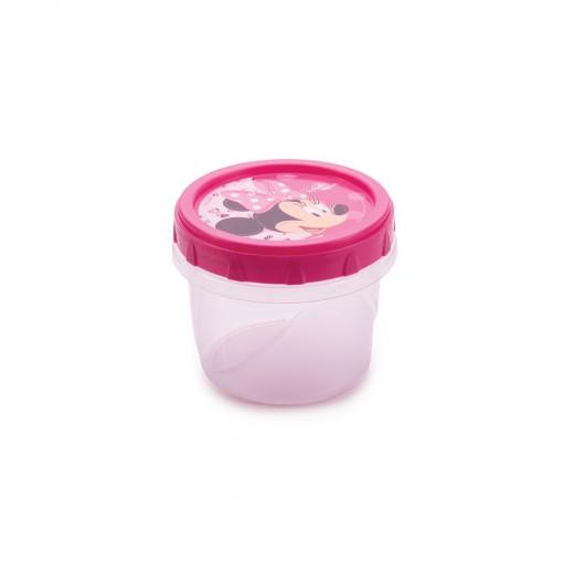 Pote de Plástico Redondo 300 ml Rosca Minnie