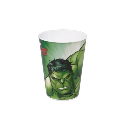 Copo de Plástico 320 ml Avengers Hulk