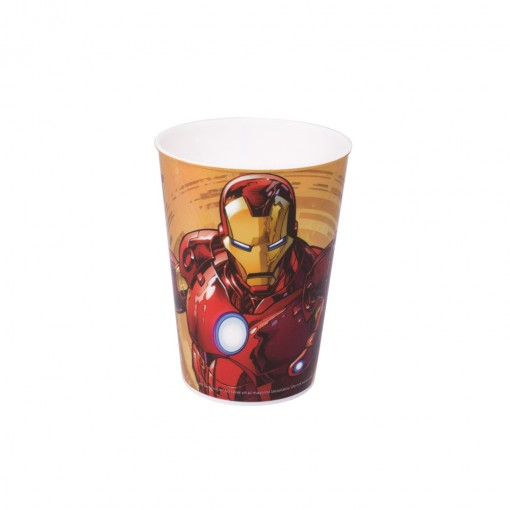 Copo de Plástico 320 ml Avengers Homem de Ferro