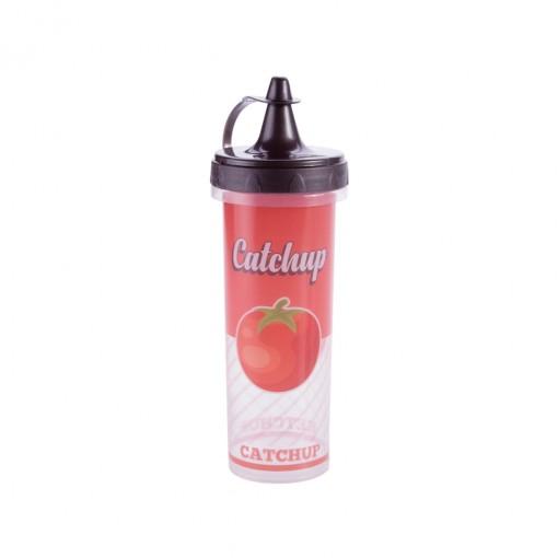 Bisnaga de Plástico 250 ml para Ketchup Retrô Férias