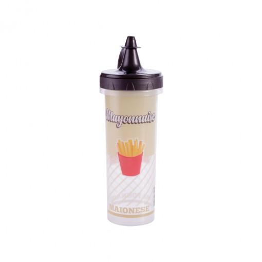 Bisnaga de Plástico 250 ml para Maionese Retrô