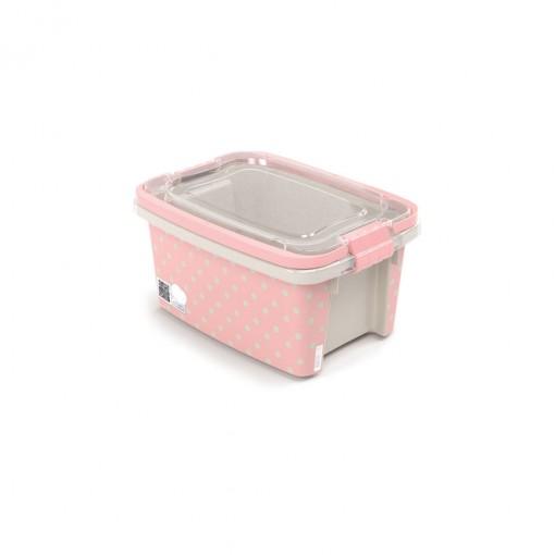 Caixa 690 ml com Alça e Trava | Poá - Gran Box