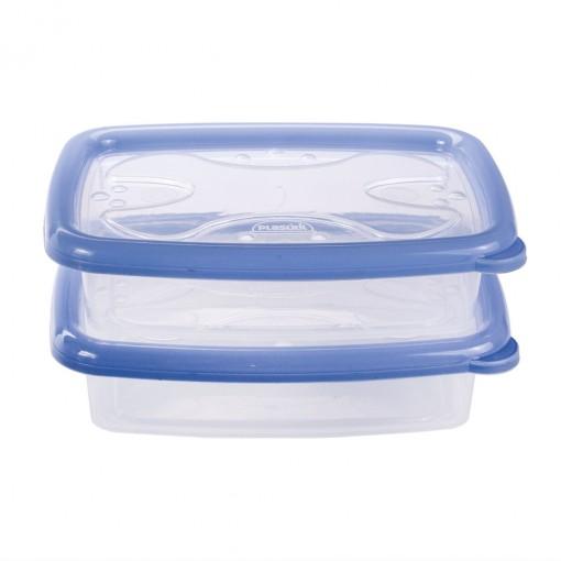 Conjunto de Potes 700 ml - 2 Unidades | Conservamax