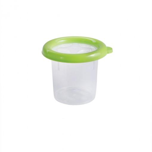 Pote de Plástico Redondo 390 ml com Tampa Emborrachada Conservamax