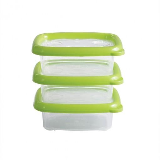 Conjunto de Potes 300 ml - 3 Unidades | Conservamax
