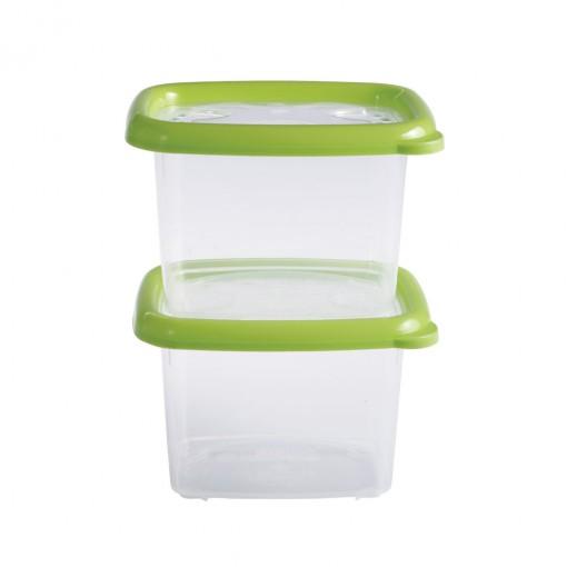 Conjunto de Potes 650 ml - 2 Unidades | Conservamax