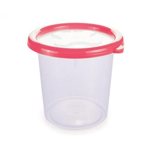 Pote de Plástico Redondo 1,38 L com Tampa Emborrachada Conservamax