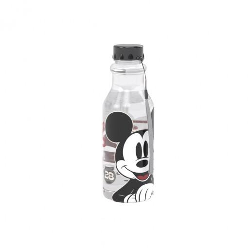 Garrafa de Plástico 500 ml com Tampa Rosca Retrô Mickey Vintage