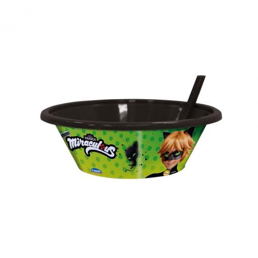 Bowl com Canudo Fixo | Cat Noir