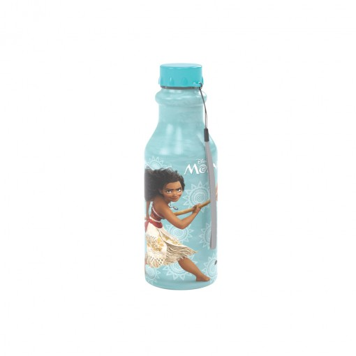Garrafa de Plástico 500 ml com Tampa Rosca Retrô Moana