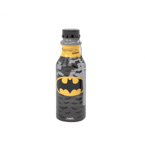 Garrafa de Plástico 500 ml com Tampa Rosca Retrô Batman