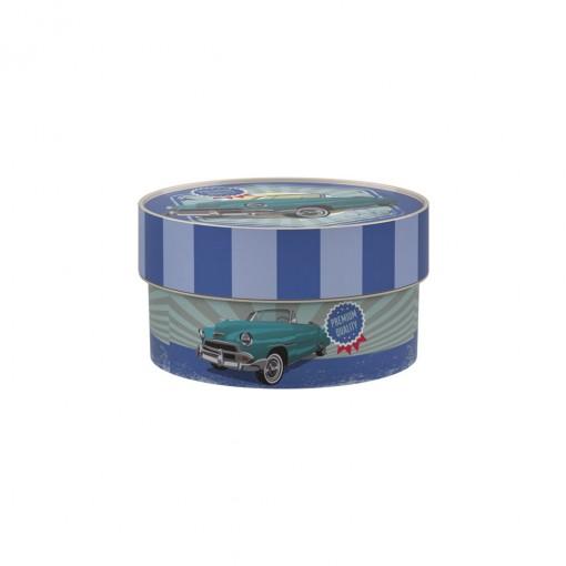 Caixa Redonda 630 ml | Garagem Retrô