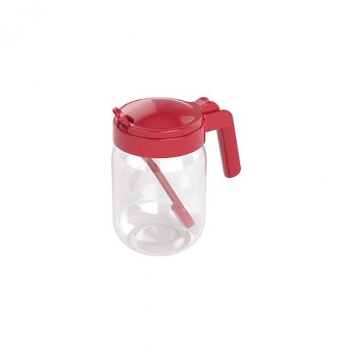 Açucareiro de Plástico com Alça e Colher 450 ml
