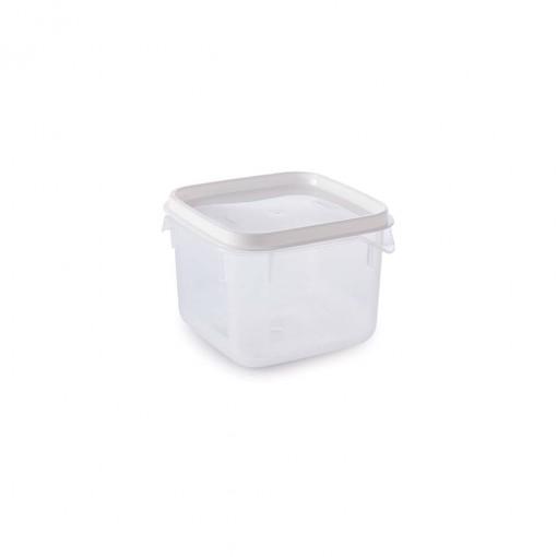 Pote de Plástico Quadrado 1,1 L Moduline