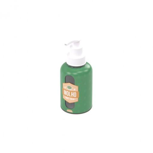 Garrafa de Plástico 280 ml com Bomba Molho